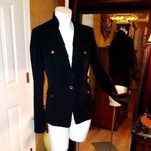 White House Black Market black blazer jacket sz 4